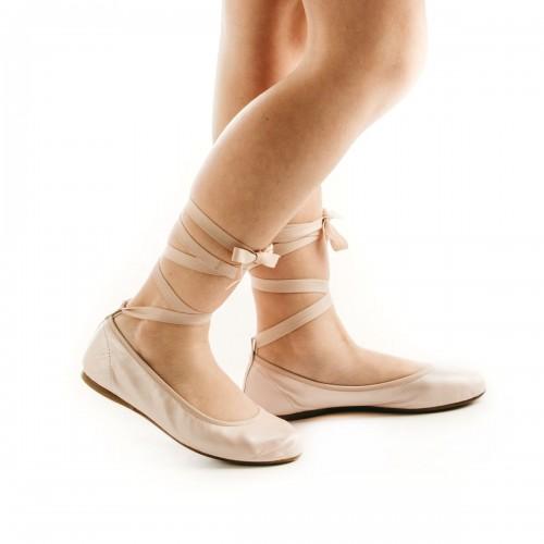 Ribbons Soft Ballerinas