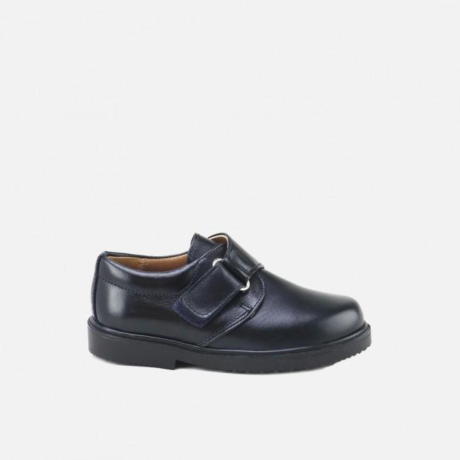 Zapato colegial con velcro