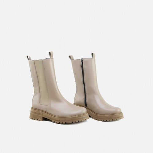 ELASTIC TOASTED BOOTS