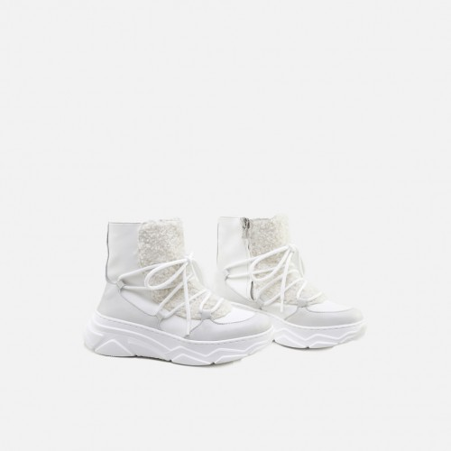 APRÈS SKI WHITE BOOTS