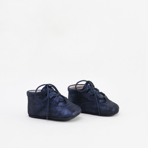 NAVY ENGLISH BABY BOOTIE