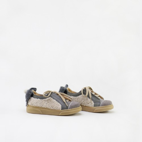 TAUPE BUTTERFLY SNEAKERS