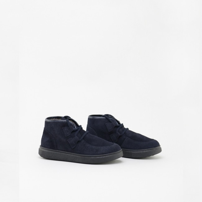NAVY WALLABY BOOT