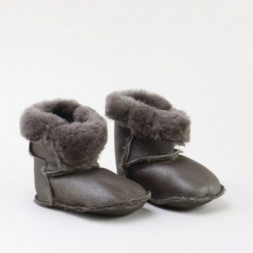 Shearling soft beby boots