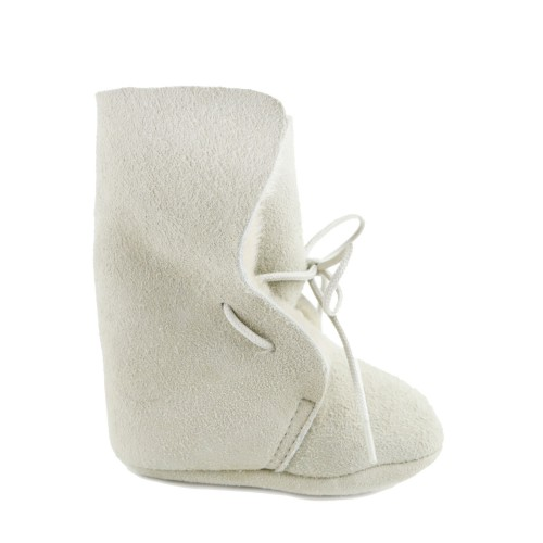 Shearling soft baby boots