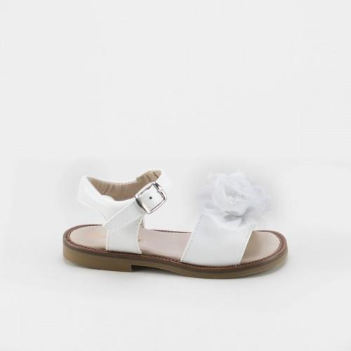 Sandalia flor textil 4262Y