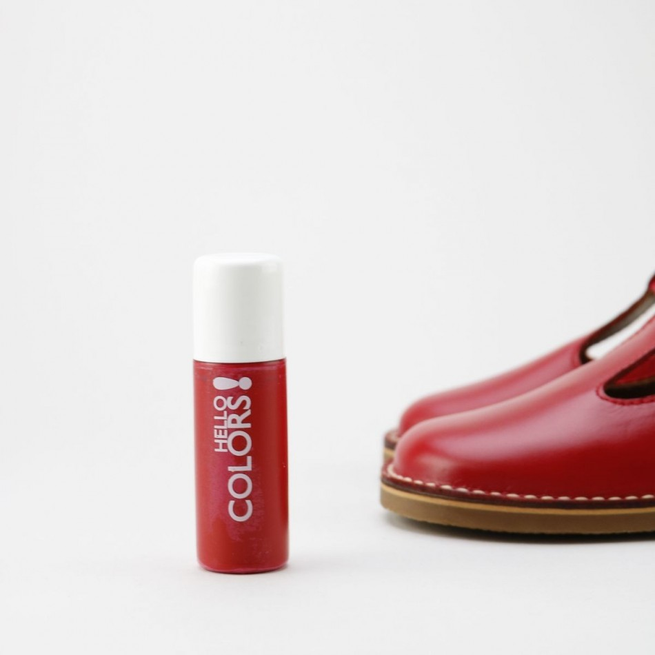 Tinte reparador piel rojo