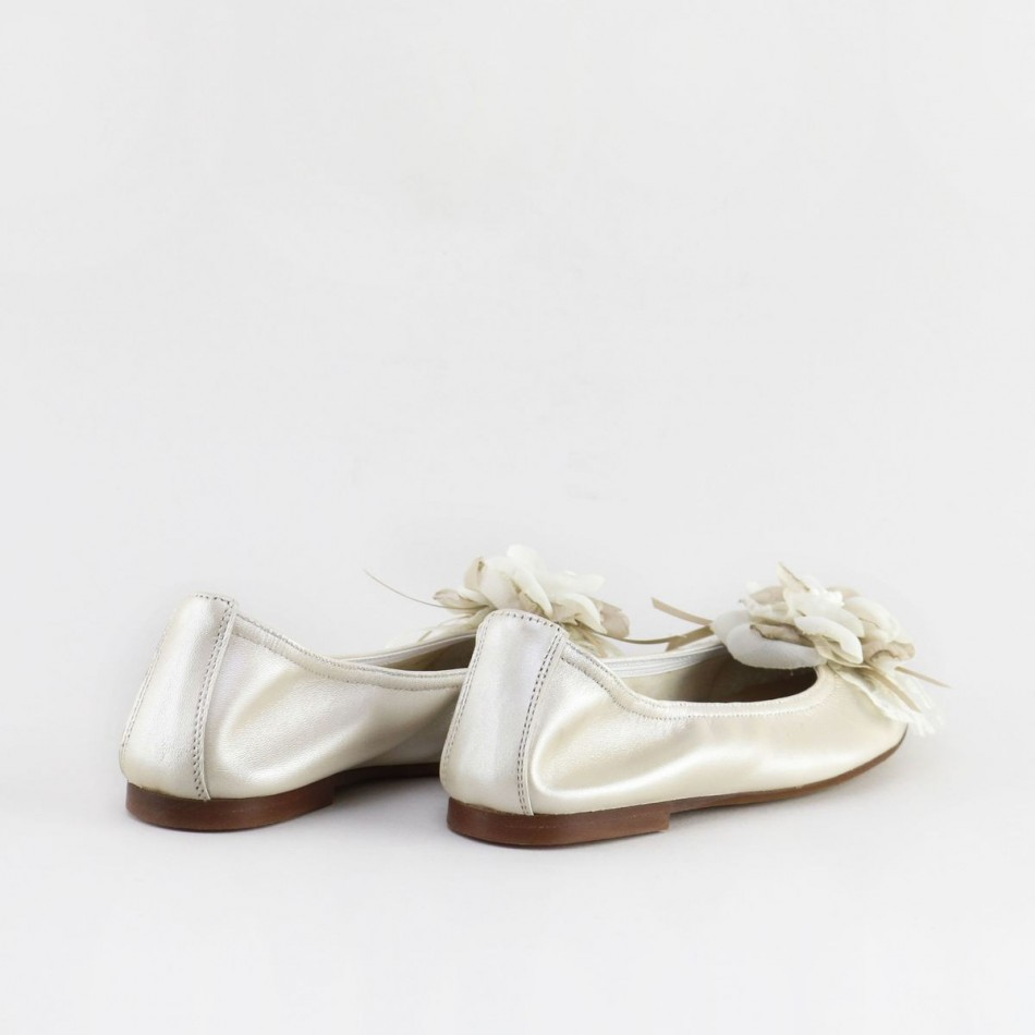 Bailarina flor gasa 40028AA