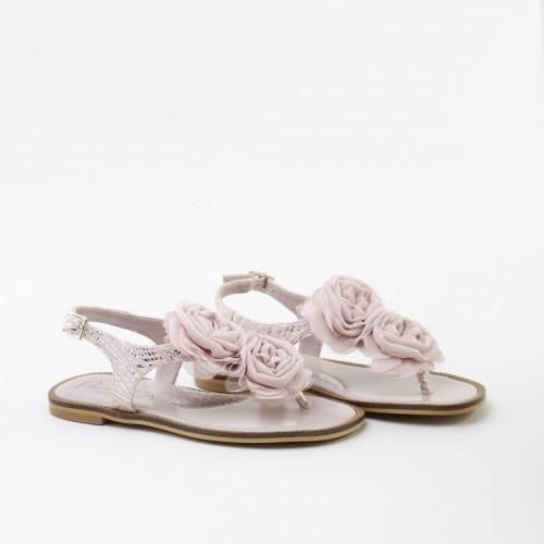 Sandalia flores 60007AA