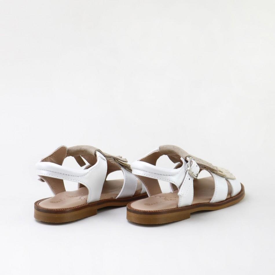 Sandalia flecos 17003AA