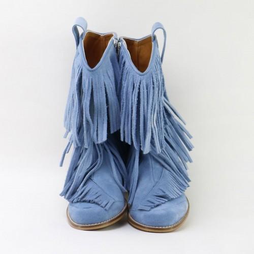 Bota cowboy flecos 5445AA