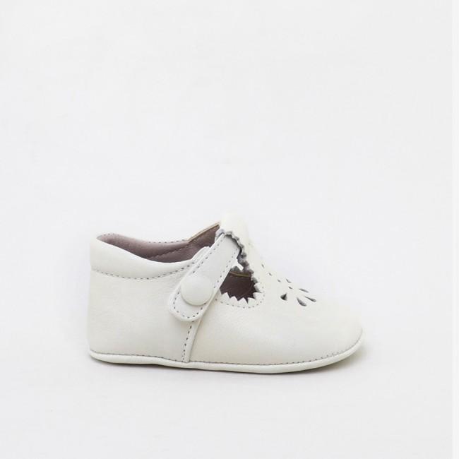 T-strap baby shoe
