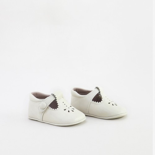 T-strap baby shoe