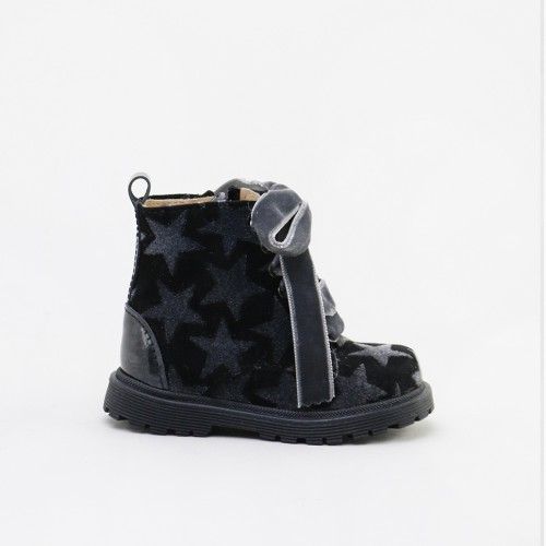 Military boot with stars