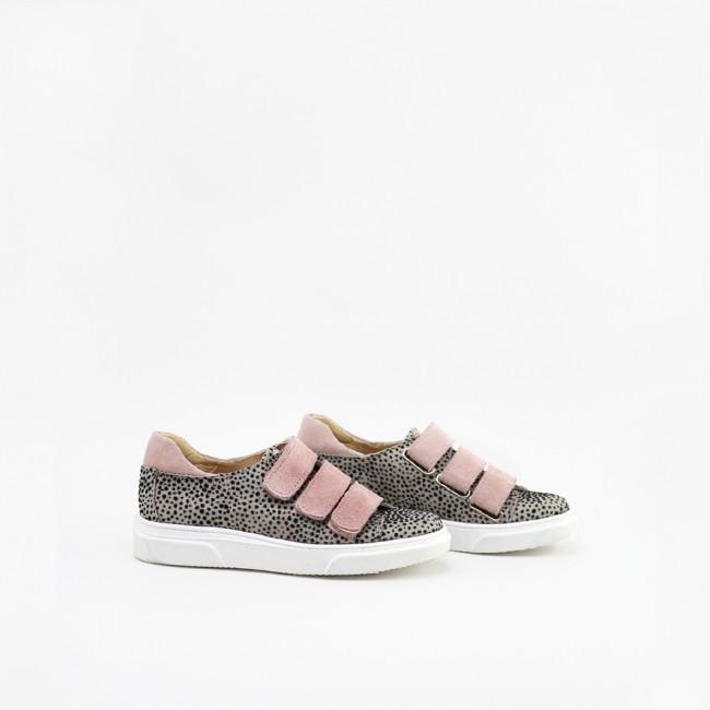 Zapato sport combinado con...