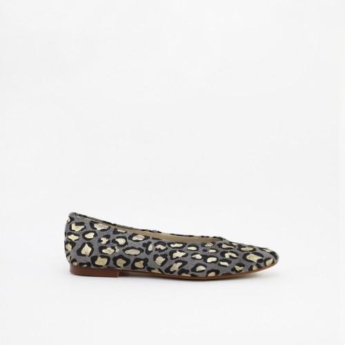 Leopardino print ballerinas