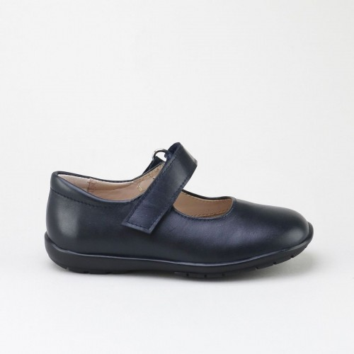 Velcro School Mary-Janes
