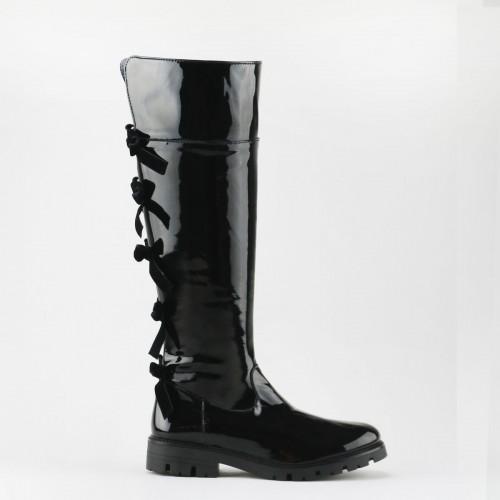 Velvet Bows Boot