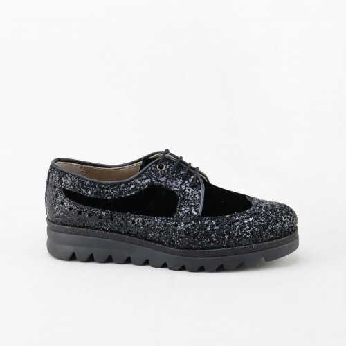 Blucher with glitter and...