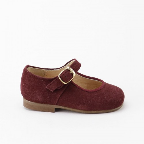 Classic Mary-Jane in Burgundy