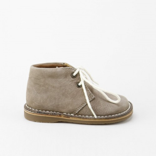 Split Suede Ankle Boot