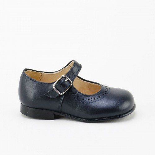 Classic Mary-Jane in Blue Navy