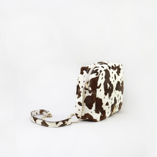 ANA COW HANDBAG