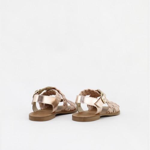 Sandalias guarachas trenza skin para mujer y niñas