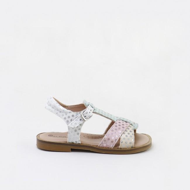 Sandalias de topos para niñas