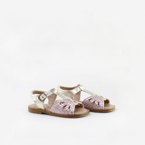 Buckle sandals with...