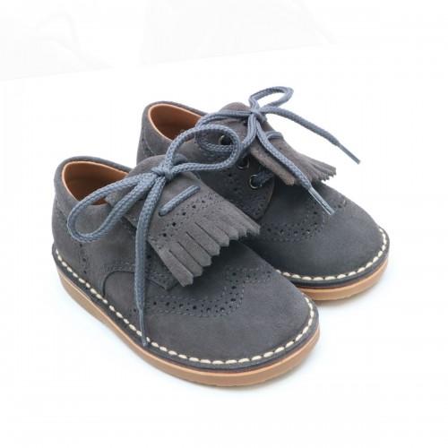 Zapato punteado con fleco 2481
