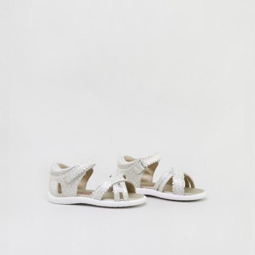 Multi Straps Scalloped Sandals