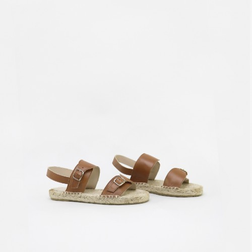 Espadrille Buckeled Sandals