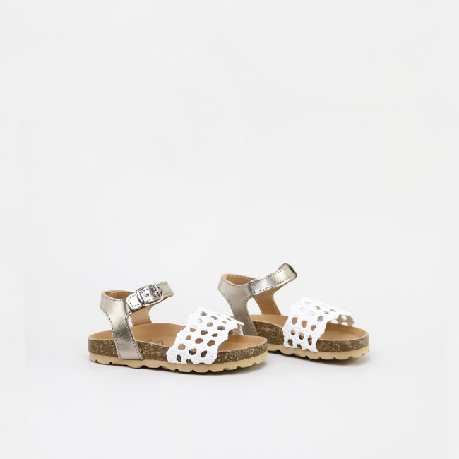 Open Basketweave Sandals
