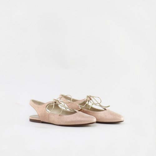 Chianti pointed ballerinas