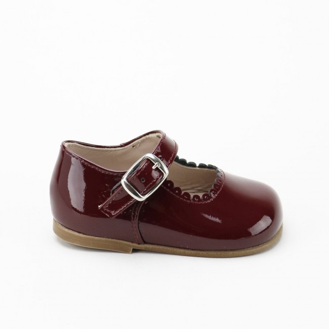 First Steps Patent leather...
