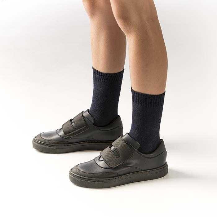 Zapatos colegiales con materiales ecológicos para el nuevo curso