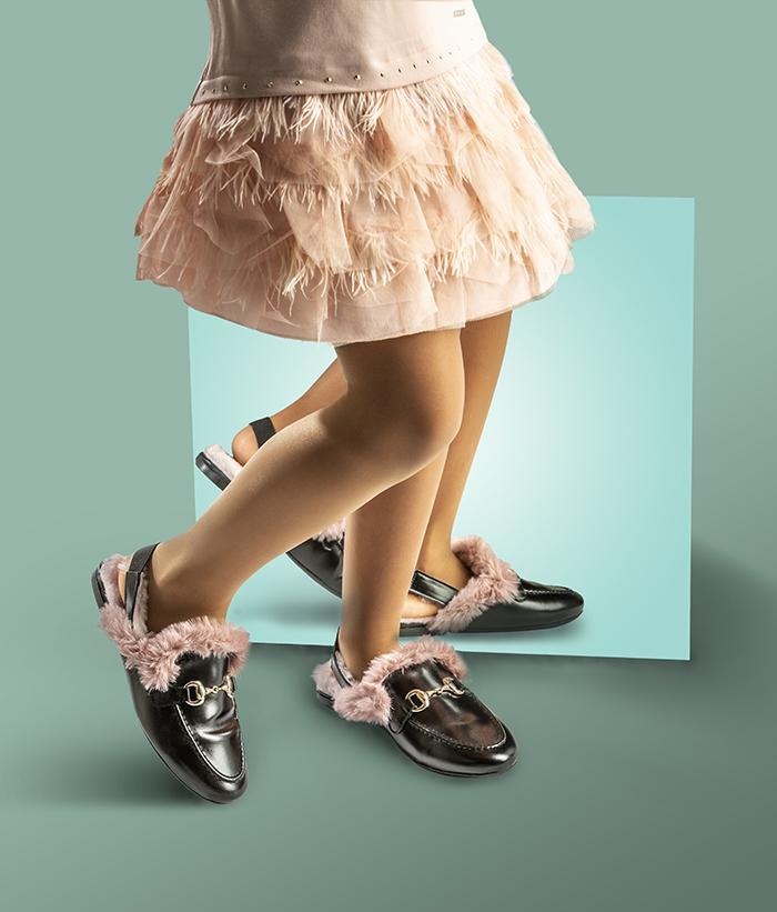 Mocasín tipo slipper de Papanatas, la excelencia en el diseño