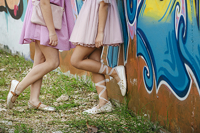 Wishlist: Plaited Mary Janes and Ballerinas with a ribbon by Papanatas