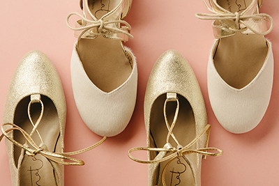 Lista de deseos: Bailarinas de diseño chianti y de piezas de Papanatas