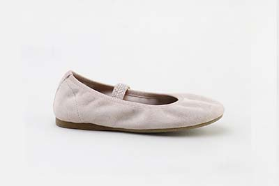 Quality leathers to create designer shoes:Suede